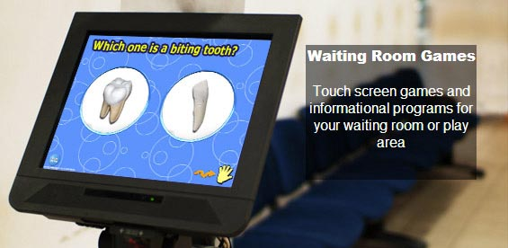 Waiting Room Touch Screen Games