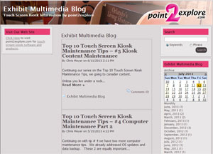 Exhibit Multimedia Blog